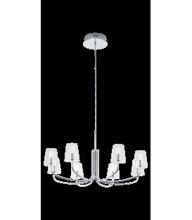 EGLO NOVENTA 8'LI LED SARKIT AVİZE KROM 96516