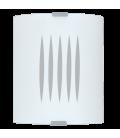 Eglo 83132 Grafık Beyaz Çizgili Cam Aplik 83132