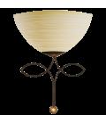 Eglo 89135 Beluga Antik Şampanya Rengi Cam Aplik 89135
