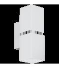 Eglo 95377 Passa 2'Li Beyaz Kare Led Aplik 95377
