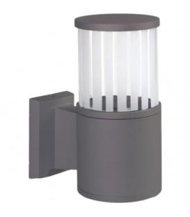 Fıçı Model Alüminyum Enjeksiyon Döküm Aplik , Milenyum Gri Renk