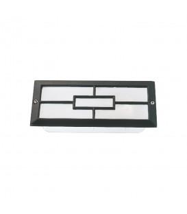 Sıva Altı Orta Kare Model Alüminyum Enjeksiyon Döküm Armatür , Siyah Renk