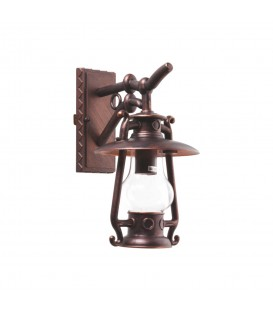 Gaz Lambası Model Alüminyum Enjeksiyon Döküm Aplik , Antik Bronz