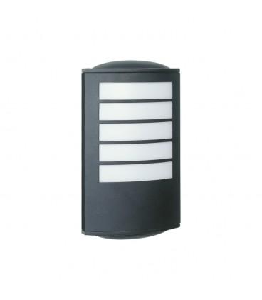 Yassı Model Alüminyum Enjeksiyon Döküm Aplik, Siyah Renk