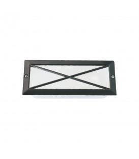 Sıva Altı Çarpı Model Alüminyum Enjeksiyon Döküm Armatür , Siyah Renk