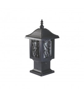 Bambu Set Üstü Model Alüminyum Enjeksiyon Döküm Fener, Siyah Renk