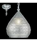 Eglo 49716 Melılla Tekli Sarkıt Gümüş 49716