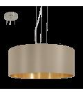 Eglo 31607 Maserlo Büyük Tekli Sarkıt Kahve - Altın 31607