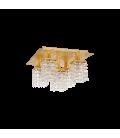 Eglo 97721 PYTON GOLD Kristalli Ledli Avize Tavan Armatürü