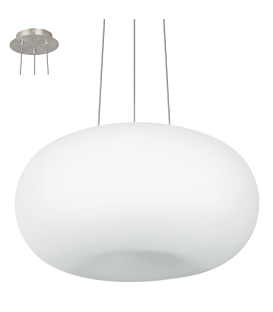 Eglo 86815 Optıca Beyaz Opal Sarkıt 445 Mm 86815