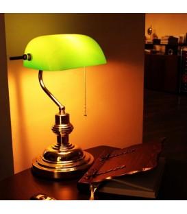 Ofisel Banker Masa Lambası Yeşil