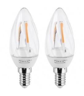 RYET LED ampul E14, Işık rengi: Sıcak beyaz (2700 Kelvin), 200 lm