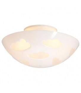 SKOJIG tavan lambası, beyaz, 46 cm