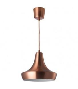 TJUGOFEM sarkıt lamba, bakır rengi, 28 cm