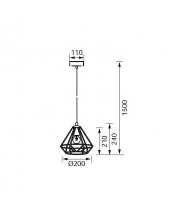 Jupiter Sarkıt Armatür EV625