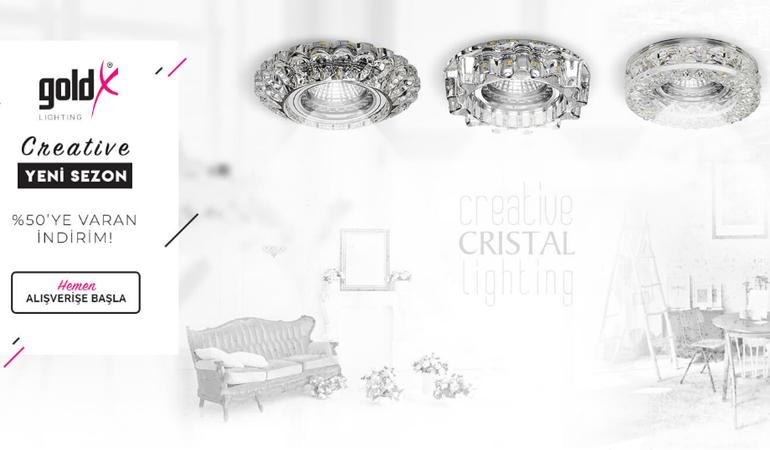 Goldx Sıva Altı Kristal Spot Modelleri